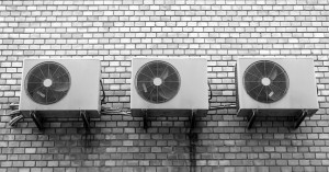 installed air conditioners