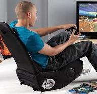 man using Gaming Chair